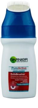 Garnier Pure Active gel nettoyant avec brosse