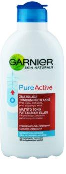 Garnier Pure Active lotion tonique purifiante pour peaux à problèmes, acné