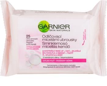 Garnier Skin Naturals toalhitas micelares de limpeza para pele sensível