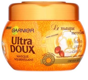 Garnier Ultra Doux máscara nutritiva para cabelos secos e fortes