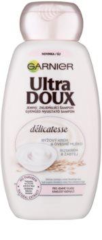 Garnier Ultra Doux upokojujúci šampón pre jemné vlasy