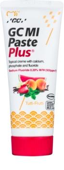 GC MI Paste Plus Tutti-Frutti creme protetor remineralizante para dentes sensíveis com fluór