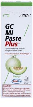 GC MI Paste Plus Melon remineralizační ochranný krém pro citlivé zuby s fluoridem