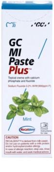 GC MI Paste Plus Mint schützende remineralisierende Zahncreme für empfindliche Zähne mit Fluor