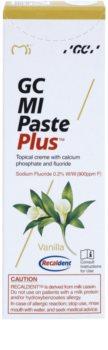 GC MI Paste Plus Vanilla Protective Remineralising Cream for Sensitive Teeth With Fluoride
