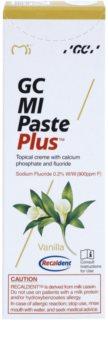 GC MI Paste Plus Vanilla remineralizační ochranný krém pro citlivé zuby s fluoridem