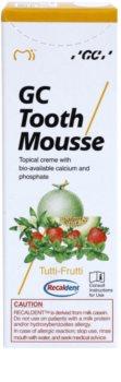 GC Tooth Mousse Tutti Frutti remineralizační ochranný krém pro citlivé zuby bez fluoridu