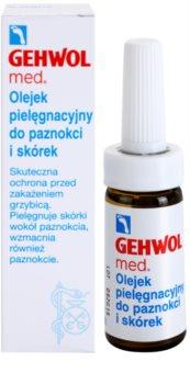 Gehwol Med ochranný olej na pokožku a nechty na nohách proti plesňovým infekciám