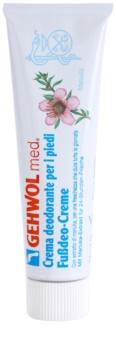 Gehwol Med crema desodorante intensa para una protección de larga duración para pies