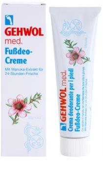 Gehwol Med desodorizante intensivo em creme para uma proteção de longa duração para pernas