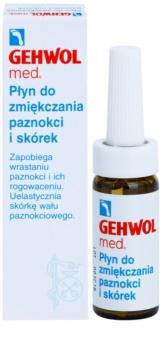 Gehwol Med zmäkčujúca starostlivosť na zarastajúce nechty a silno zrohovatenú kožu na chodidlách