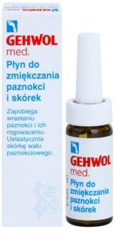 Gehwol Med změkčující péče na zarůstající nehty a silně zrohovatělou kuži na chodidlech