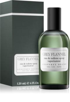 Geoffrey Beene Grey Flannel toaletní voda pro muže 120 ml s rozprašovačem