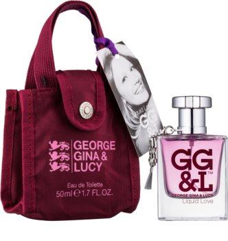 George Gina & Lucy Liquid Love Eau de Toilette para mulheres 50 ml