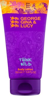 George Gina & Lucy Think Wild leite corporal para mulheres 150 ml
