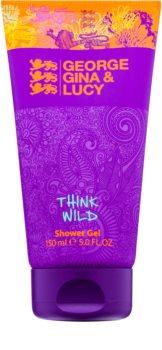 George Gina & Lucy Think Wild Shower Gel for Women 150 ml
