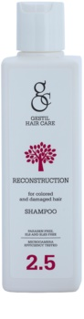 Gestil Reconstruction champô renovador para cabelo danificado e pintado
