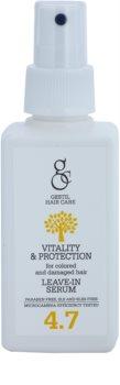 Gestil Vitality & Protection revitalisierendes Serum für gefärbtes und geschädigtes Haar