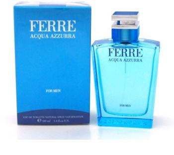Gianfranco Ferré Acqua Azzura eau de toilette pour homme 100 ml