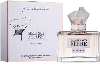 Gianfranco Ferré Camicia 113 Eau de Toilette für Damen 100 ml
