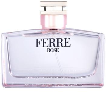 Gianfranco Ferré Ferré Rose toaletní voda pro ženy 100 ml