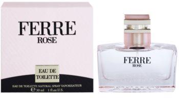 Gianfranco Ferré Ferré Rose Eau de Toilette für Damen 30 ml