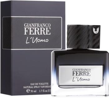 Gianfranco Ferré L´Uomo Eau de Toilette for Men 50 ml