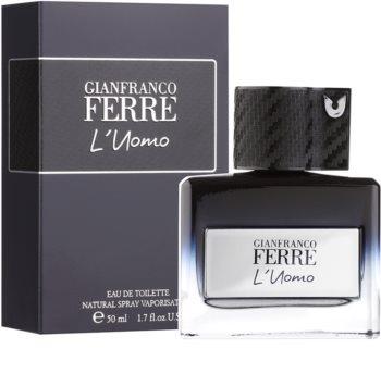 Gianfranco Ferré L´Uomo Eau de Toilette für Herren 50 ml