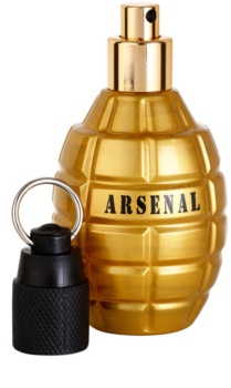 Gilles Cantuel Arsenal Gold Parfumovaná voda pre mužov 100 ml