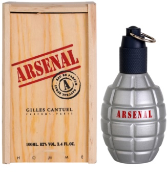 Gilles Cantuel Arsenal Grey Eau de Parfum voor Mannen 100 ml