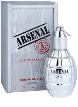 Gilles Cantuel Arsenal Platinum Eau de Parfum für Herren 100 ml