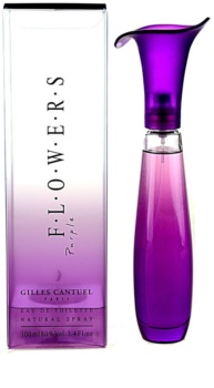 Gilles Cantuel Flowers Purple Eau de Toilette für Damen 100 ml