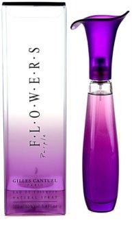 Gilles Cantuel Flowers Purple eau de toilette pentru femei 100 ml