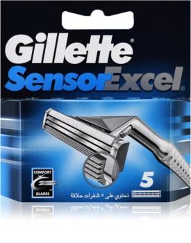 Gillette Sensor Excel tartalék pengék uraknak
