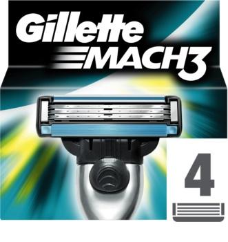 Gillette Mach 3 Spare Blades Replacement Blades