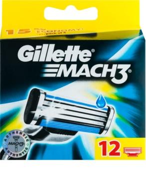 Gillette Mach 3 zapasowe ostrza