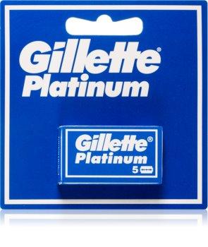 Gillette Platinum lames de rasoir de rechange