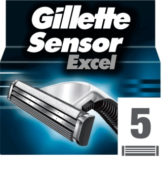 Gillette Sensor Excel náhradné žiletky pre mužov
