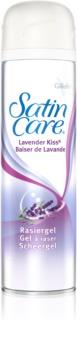 Gillette Satin Care Lavender Kiss Shaving Gel For Women