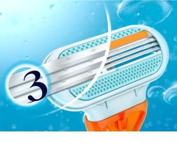 Gillette Venus Riviera lâminas de barbear descartáveis