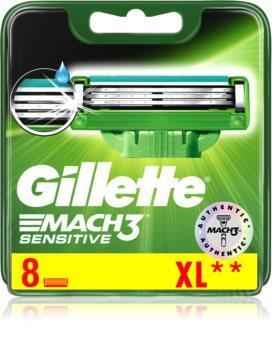 Gillette Mach 3 Sensitive Replacement Blades 8 pcs
