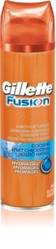 Gillette Fusion Proglide gel rafraîchissant rasage
