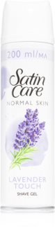 Gillette Satin Care Pure & Delicate gel za britje za ženske