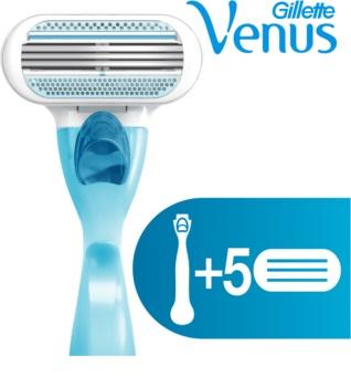 Gillette Venus Aparat de ras + rezervă lame