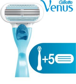 Gillette Venus holiaci strojček + náhradné hlavice