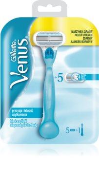 Gillette Venus Classic máquina de depilação + lâminas de reposição