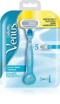 Gillette Venus Rasierer + Ersatzklingen