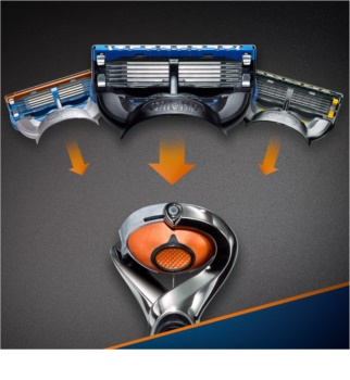 Gillette Fusion Proglide Flexball holiaci strojček + náhradné hlavice 2 ks