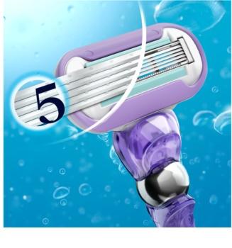 Gillette Venus Swirl holicí strojek + náhradní břity 1 ks