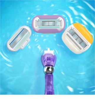 Gillette Venus Swirl Shaver + Spare Blades 1 pcs